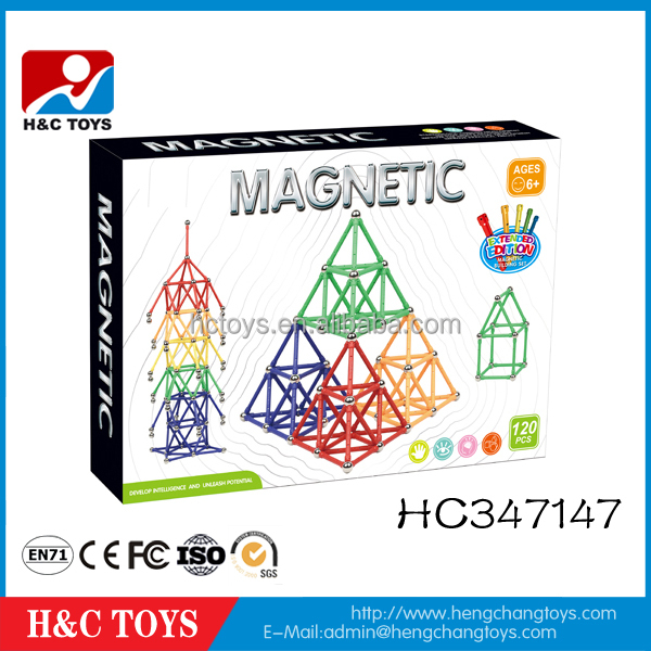 Educational Toy Building blocks 120pcs magnetic sticks and balls toys HC347147