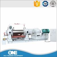 rubber open two roll mill