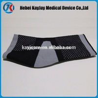 Knitting sport ankle support with silicon buttress pad online shopping