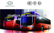 GTZ6128BEVB12 m good price hot low floor electric bus