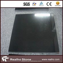 2015 most popular shanxi black granite slab black galaxy granite cosmic black granite