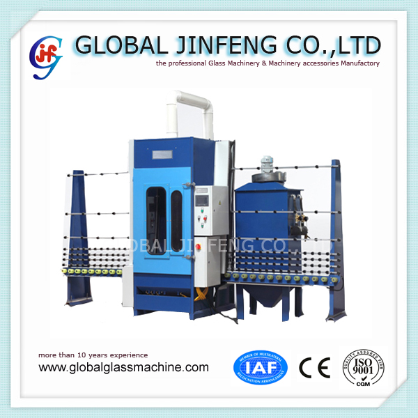JFP-16LA-T PLC control automatic glass marble sandblasting machinery for sale