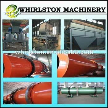 060 organic fertilizer production line which produce round granules