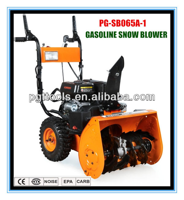 6.5HP loncin gas manual snow thrower