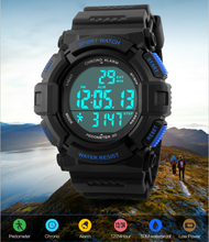 Hot selling Pedometer Watch 3D watch digital promotion pedometer, step counter for fitness