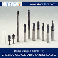 Customizing tungsten carbide end mills as to requirements