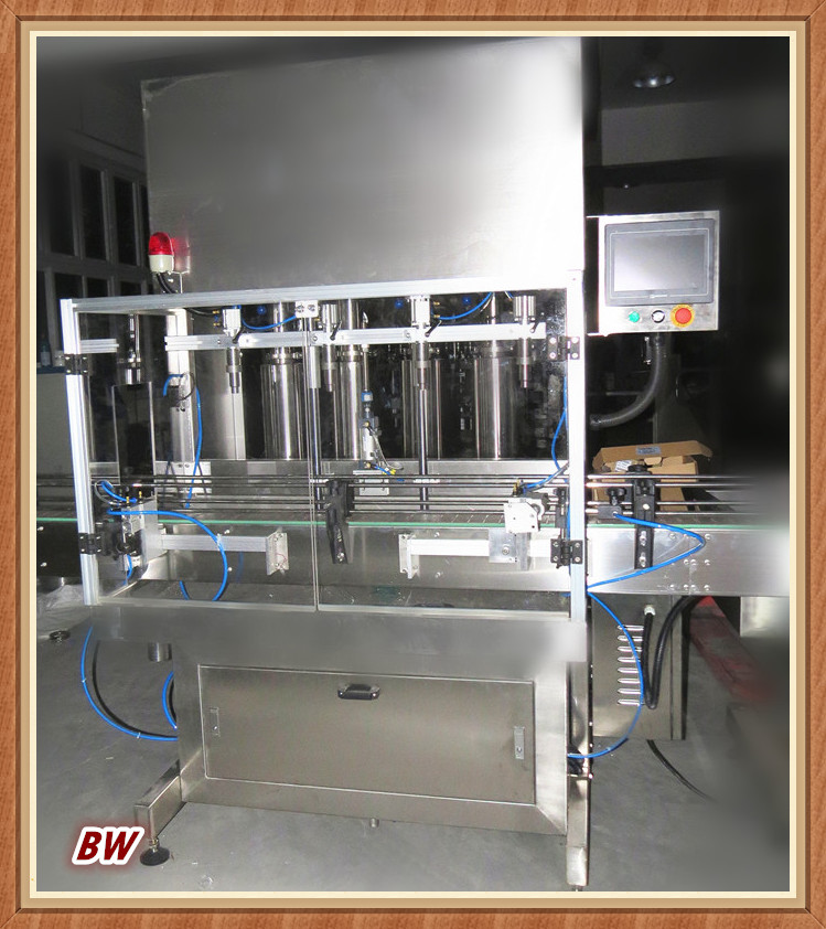 factory price automatic bottled condiment sauce/curry sauce filling machine