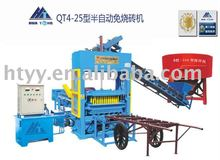 fly ash block making machine(QT4-15) price in Angola