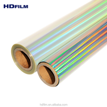 Laser Crystal Holographic Cold Lamination Bopp Film