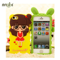 Colorful soft gel silicone mobile phone case