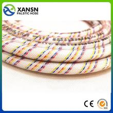 "raw material 1/2"" nigeria pvc nylon reinforced hose pvc hose for agriculture use with great price"