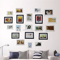 New design Colorful Printing logo wholesale western style photo frames