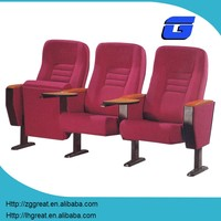 Hot selling metal folding cheap auditorium chair seats /cinema chair/home theater chair