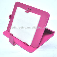 360 rotation PU leather tablet case for Ipad