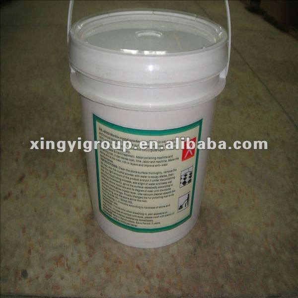 chemical construction for marble hardening