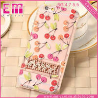 Fruit Cover Slim Case For iPhone 6/6 Plus Phone TPU Rubber Holder Cases