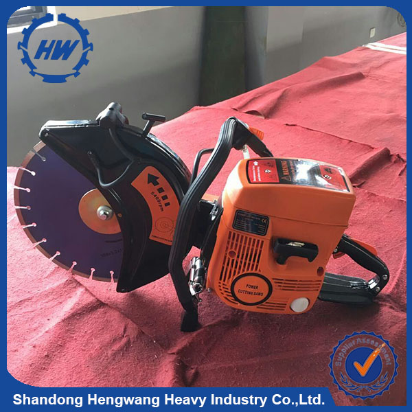 4.8HP gasoline Concrete cutter with diamond blade