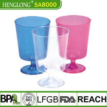 Wedding Plastic Wine champagne flutes disposable glass