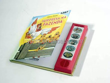 My hot sound book/audio book with interest music voice pad