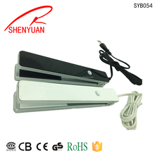 hot selling Mini Best stylish hair straightener for travel fast heat up cordless flat iron