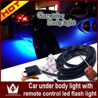 car decorates led strobe lights with remote controller