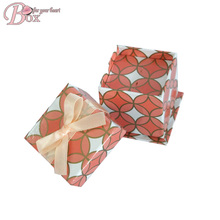 Good Quality Paper Jewellry Box with Metallic Ink