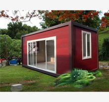 waterproof real estate container house bars prefab