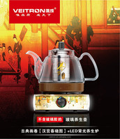 High Quality cordless kettle Borosilicate Glass cordless electric kettle