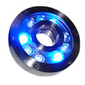 DMX RGB Underwater Pond Lighting 12V 27W Submersible IP68 Underwater Light for Water Fountain