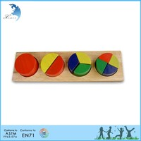 Hot sale wholesale EN 71 kindergarten montessori adult wooden intelligent toys