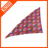 Cute design triangle bandana ,print logo dog bandana