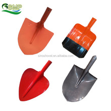 garden tools 50Mn steel pointed-end head digging shovel factory
