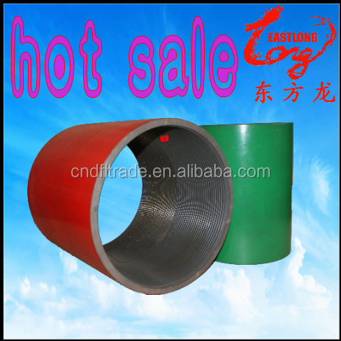 "Hot sale API 5CT 5 1/2"" K55 Long thread casing coupling for oilfield"
