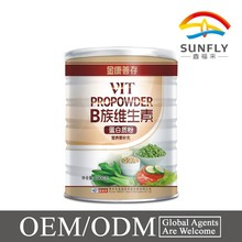 Private lable OEM service complex B vitamins c protein powder