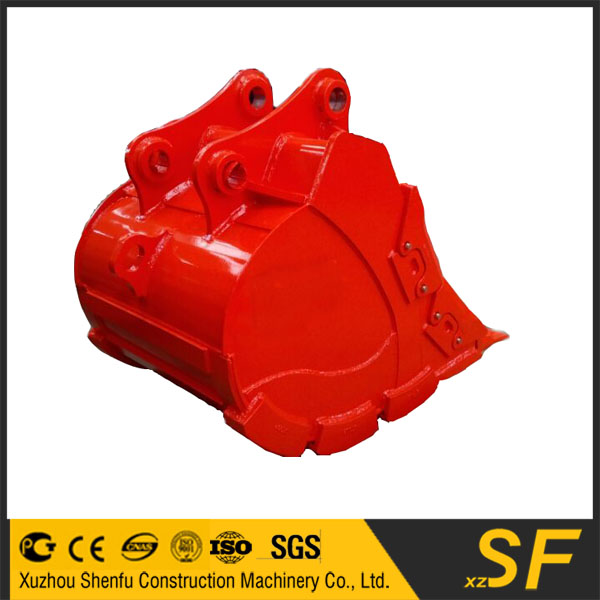 XCMG Excavator attachments of the XE210 rock bucket