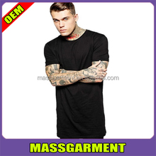 Cotton Fashion Short Sleeve Solid Black Bape T Shirt Men Blouse Tshirts Hip Hop Men's Long T-shirt Street wears