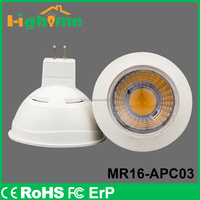 New led lamp MR16 7w GU5.3 Base AC12V Energy Saving Lighting