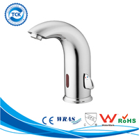 2015 solid brass deck mounted sensor faucet