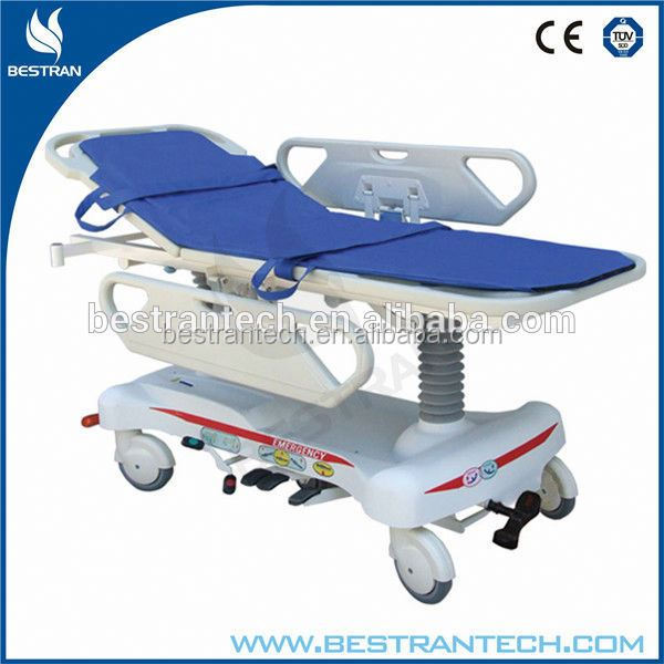 BT-TR008 hospital multi-functions hydraulic patient stretcher to bed transfer