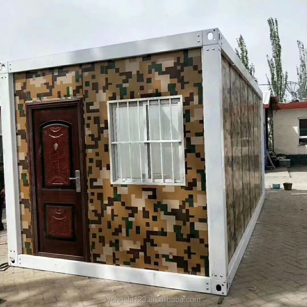 top quality flat pack container van house for sale philippines