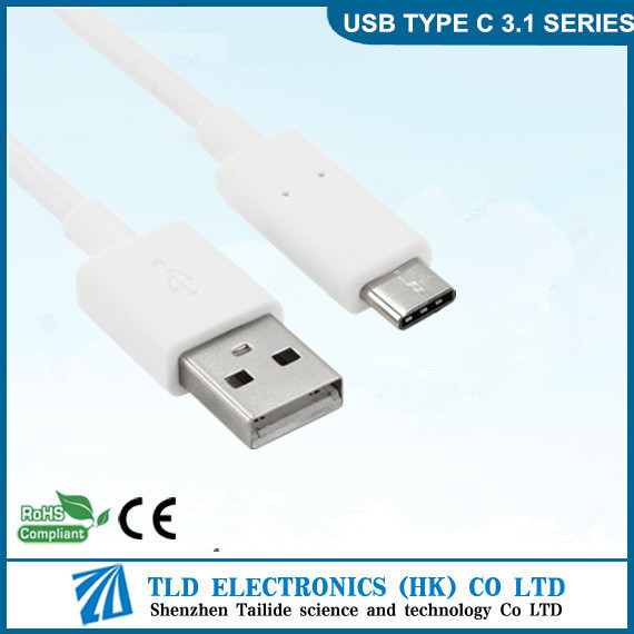 Durable USB 3.1 Type C To USB 2.0 Type A male high end cable