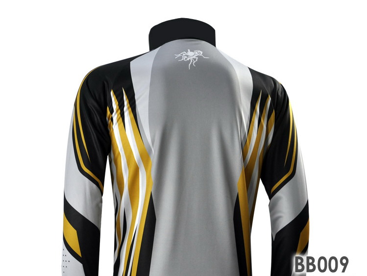 Custom made sublimation tournament long sleeve Fishing Jersey, fishing wear, fishing clothing with hoodies