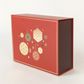 Factory accept bespoke foldable magnetic christmas gift box