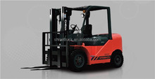 4 wheel drive forklift truck/5 ton fork lifter price