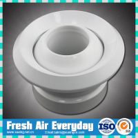 international standared aluminum round air jet diffuser for wall instalation