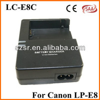 LC-E8C LC-E8E battery Charger for Canon LP-E8 Battery Rebel T2i T3i EOS 550D X4