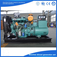 Weifang 10kw,30kw,50kw,100kw backup power diesel generator price