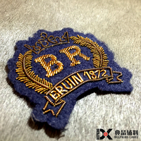 handmade bullion embroidery handmade patches india