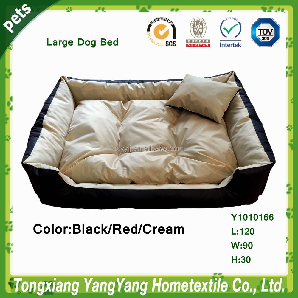 YANGYANG Pet Products Large Oxford Dog Bed Cheap Clean Pet Bed