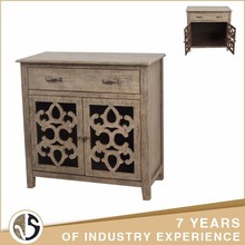 Reliable One Drawer Antique Wood Storage Cabinet With Door